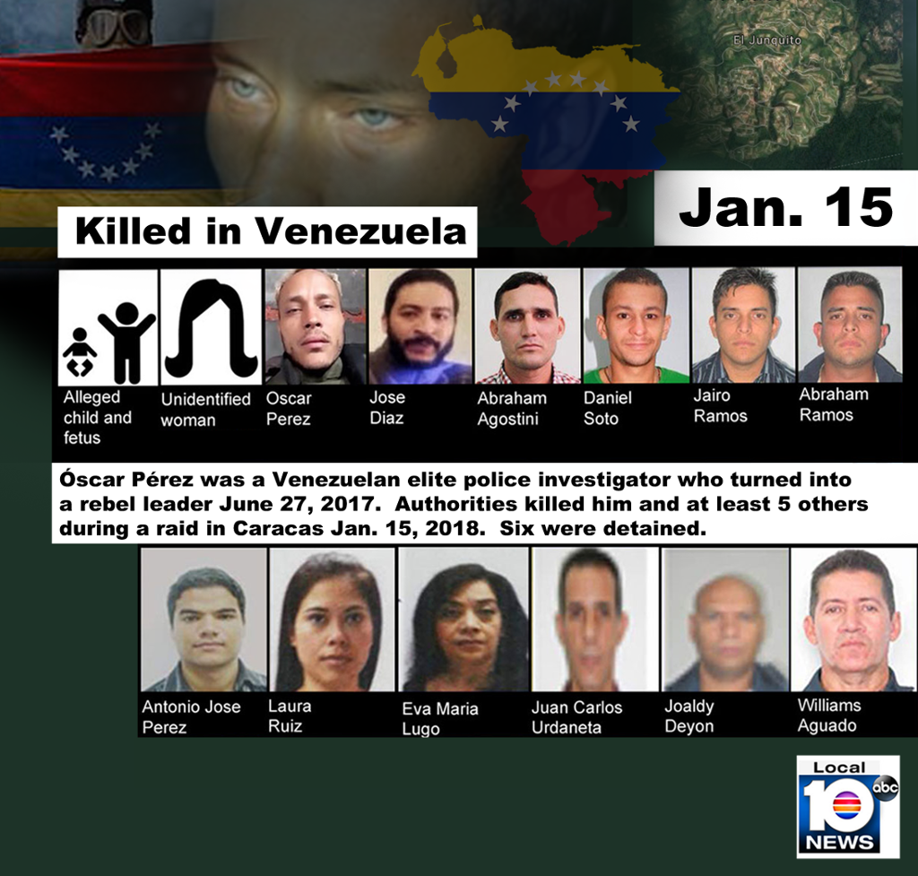 Venezuela talks off in row over fugitive ex-policeman's death