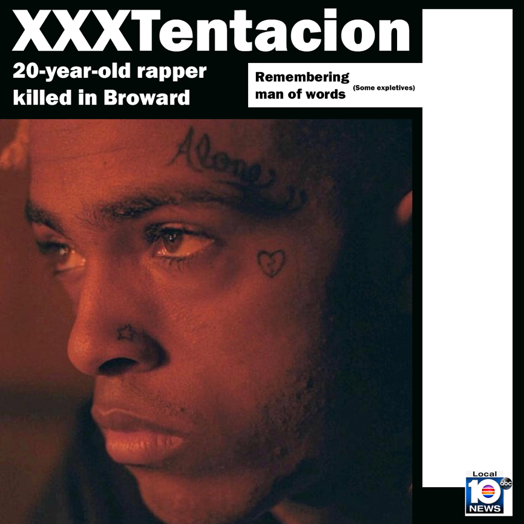 Rapper XXXTentacion Shot Dead At 20
