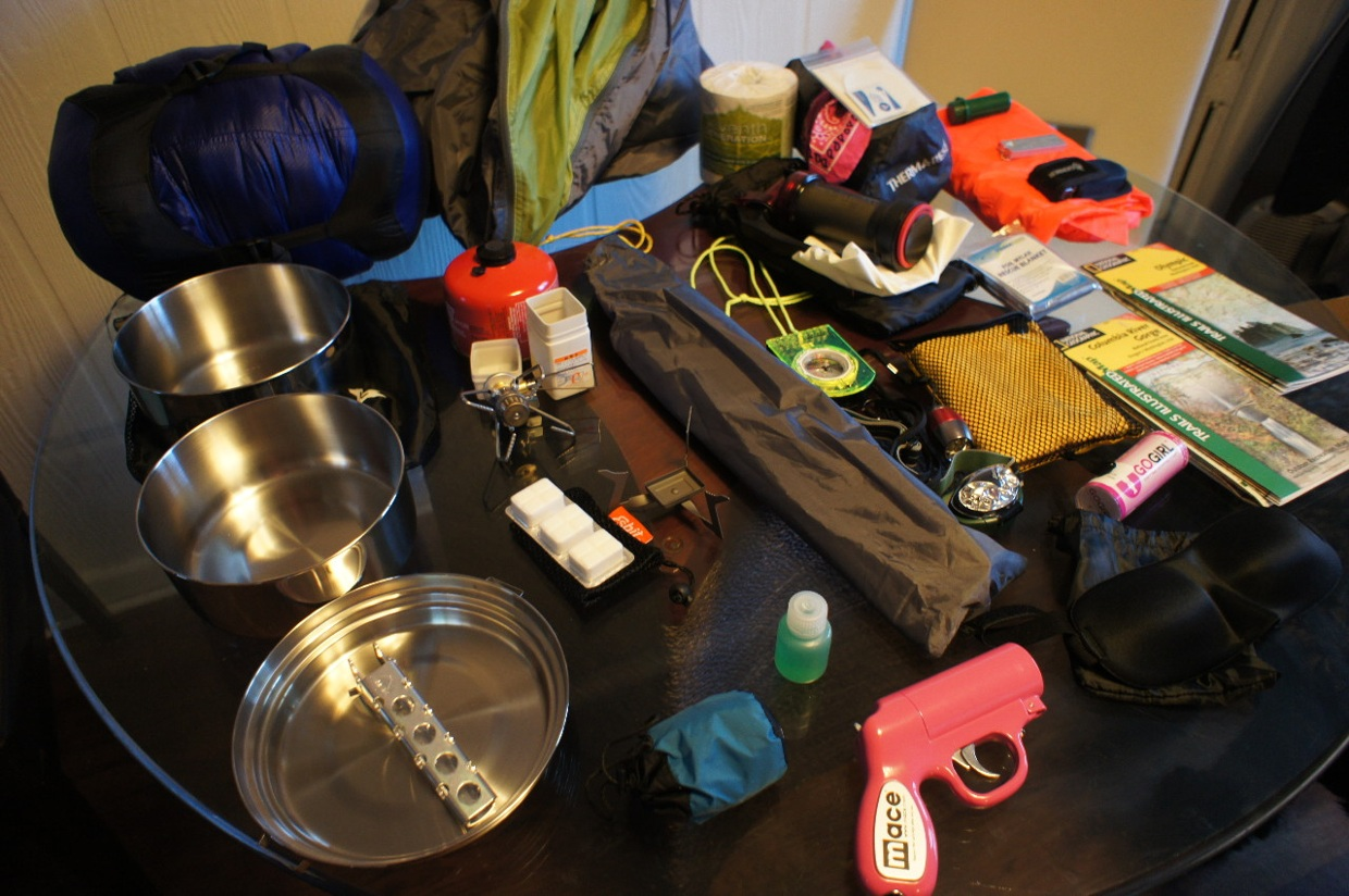 Gear for trip to WA and OR