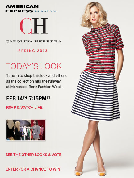 CH Carolina Hererra Look 3 - Styled by Harper's Bazaar