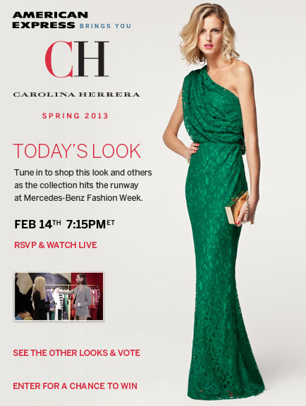 CH Carolina Hererra Look 4 - Styled by Harper's Bazaar