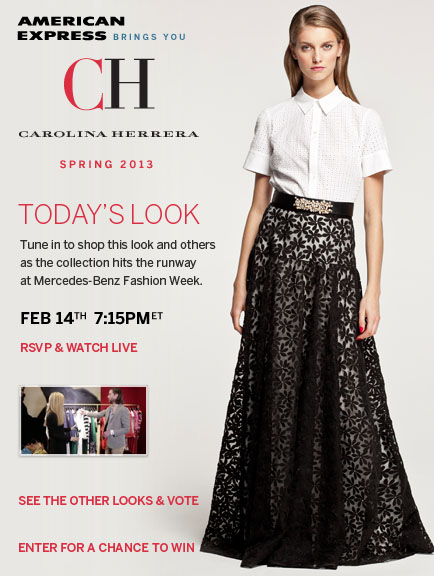 CH Carolina Hererra Look 5 - Styled by Harper's Bazaar
