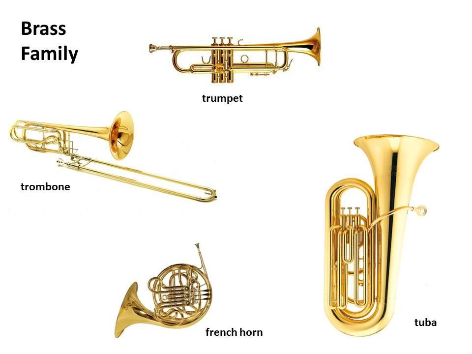 Brass Family Instruments List