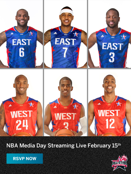 NBA All-Star Media Day Livestream