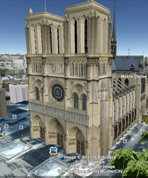 (BMS) Middle Ages Notre Dame Cathedral