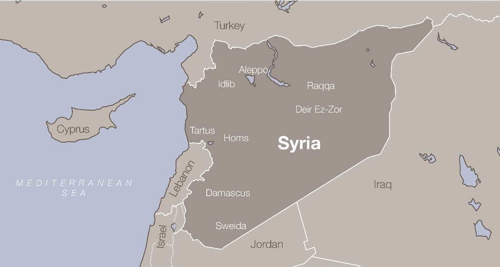 Syria Conflict Interactive Photo Map British Red Cross Blog - Syria interactive map