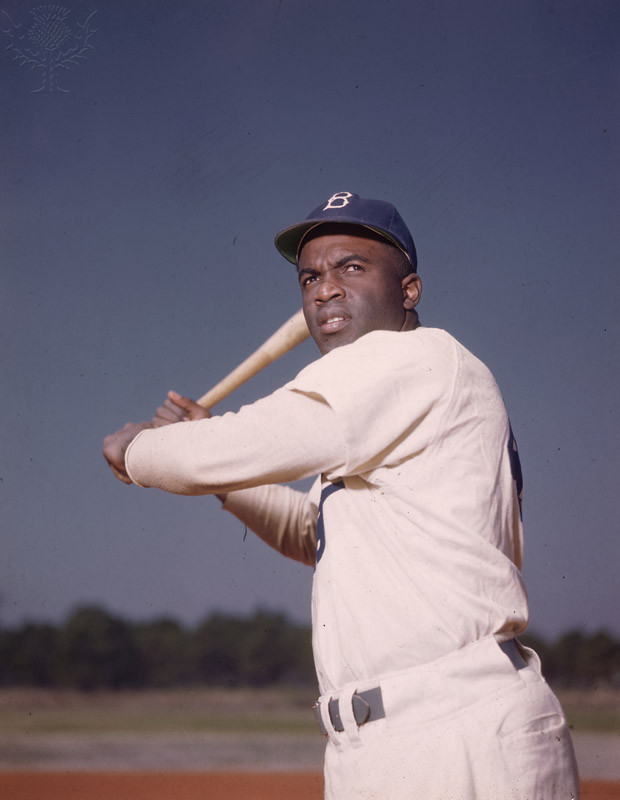 an introduction to the life of jackie roosevelt robinson in major league baseball