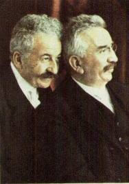 Auguste i Louis Lumière