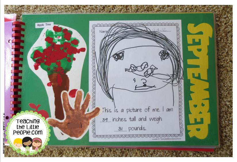 Memory Books in Preschool : teachingthelittlepeople.com