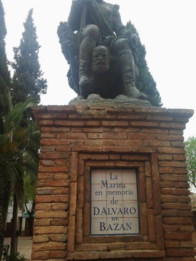 Álvaro de Bazán. El dueño del castillo