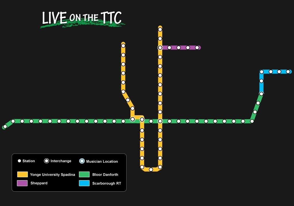 Interactive: LIVE on the TTC - 680 NEWS