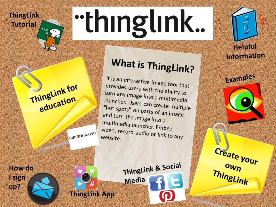 Thinglink seems to have decided to go after the educational market