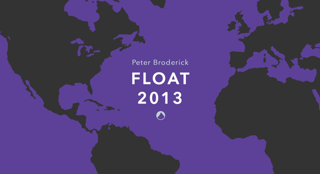 Peter Broderick 'Float 2013' Cassette Store Day Map