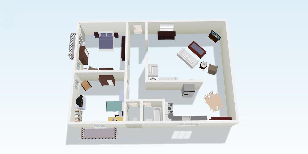 Caitlin's apartment