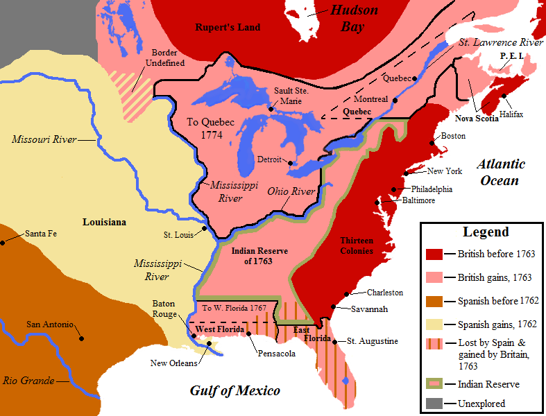 the many social changes that occurred during and after the french and indian wars