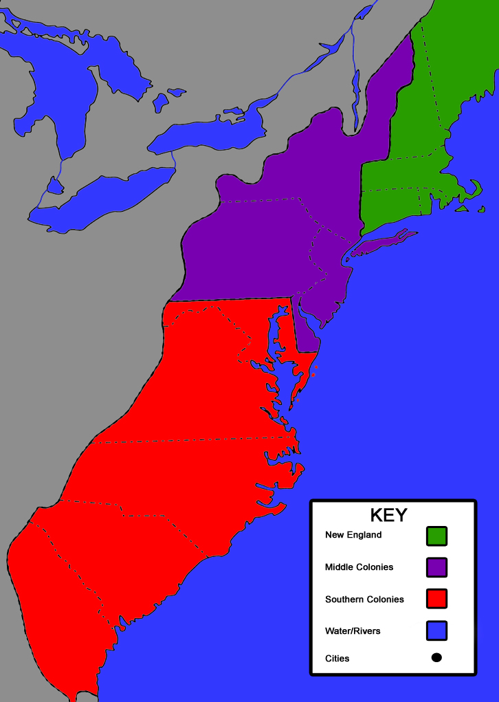 three colonial region Colonial america had three major cultural regions the northern colonies, (massachusetts, main, connecticut, rhode island, and new hampshire) the middle.
