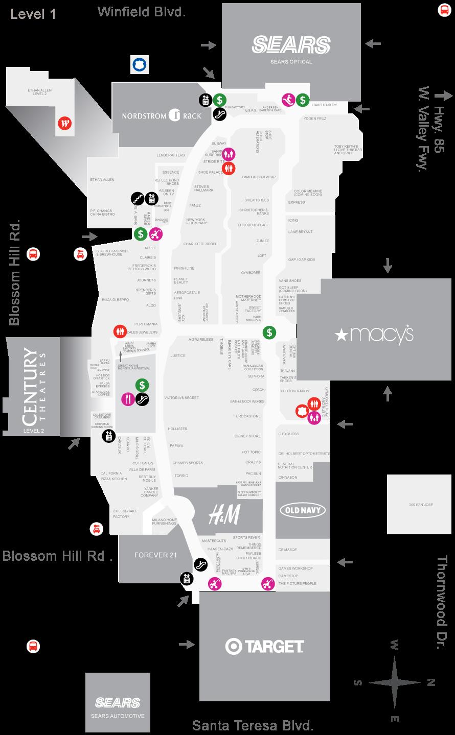 oakridge centre mall map  My blog