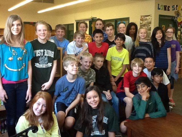 Mrs. Schoch's 2nd Period Class by tkriese