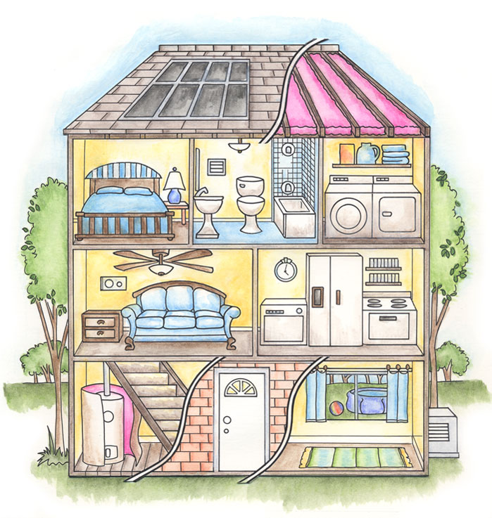 Cell analogy house for Build my house online free