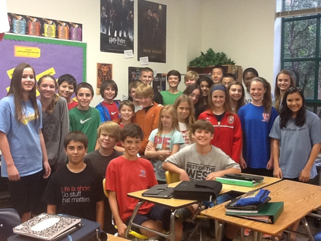 Mrs. Kriese's 6th Period Class by tkriese