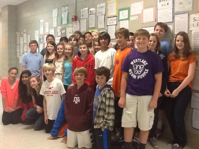 Mrs. Schoch's 6th Period Class by tkriese