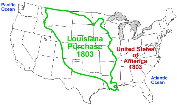 Please tell me about the Louisiana Purchase?