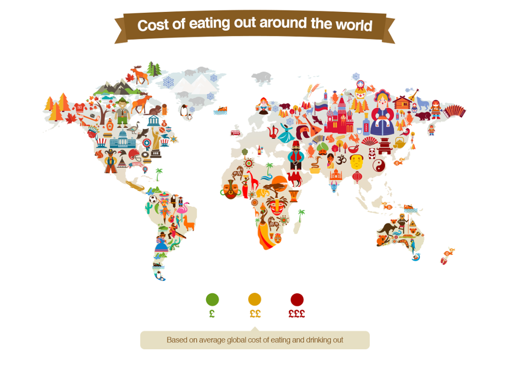 explore the cost of eating out around the world in this interactive map filipino chows philippine food and recipes