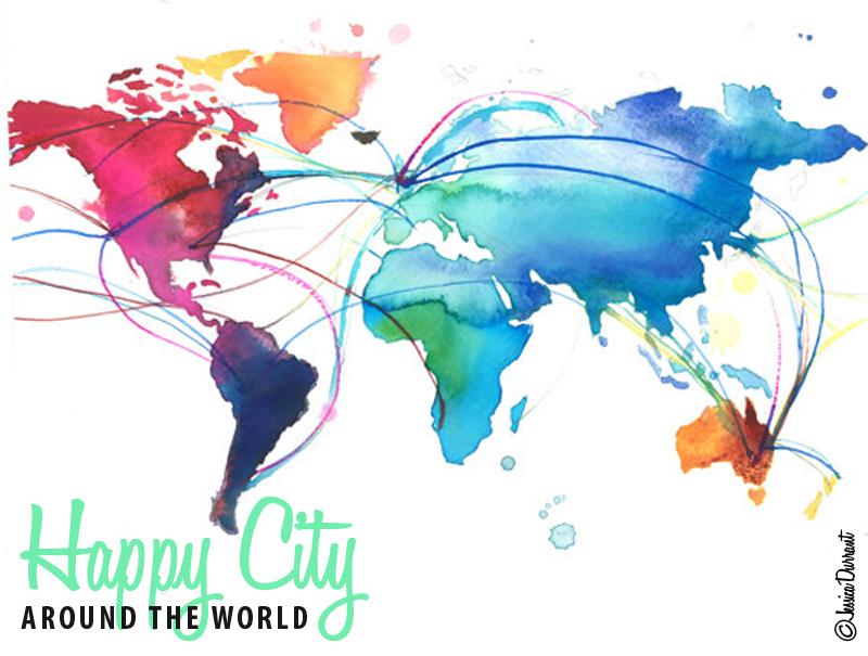 Happy City around the world