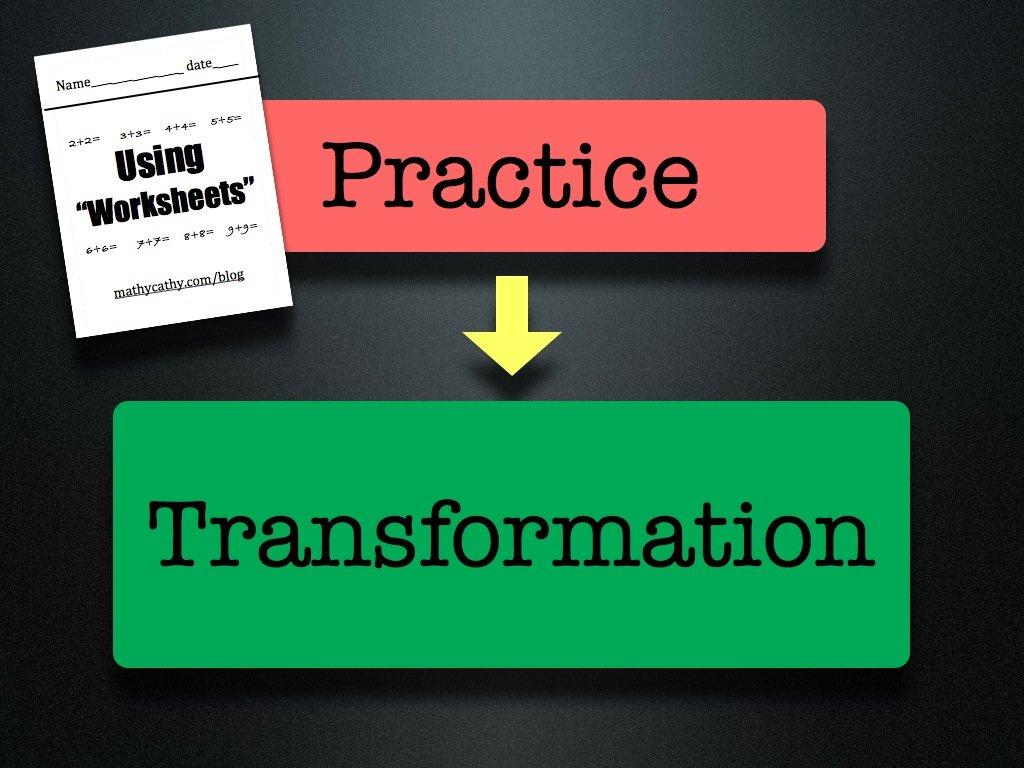 "Defending ""The Worksheet"" | MathyCathy\'s Blog – Mrs. Cathy Yenca"