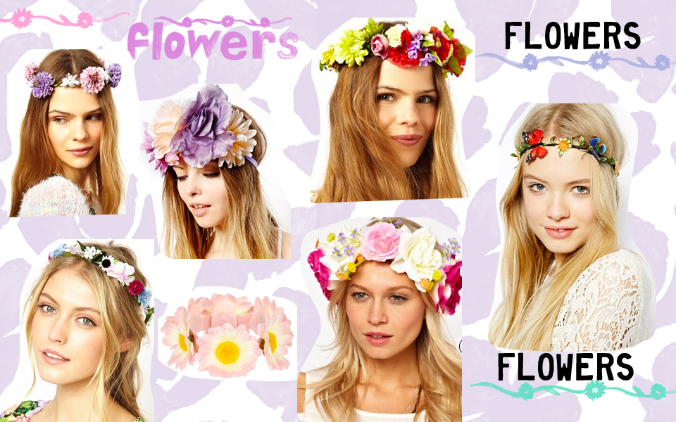 floral crowns for the beach wedding