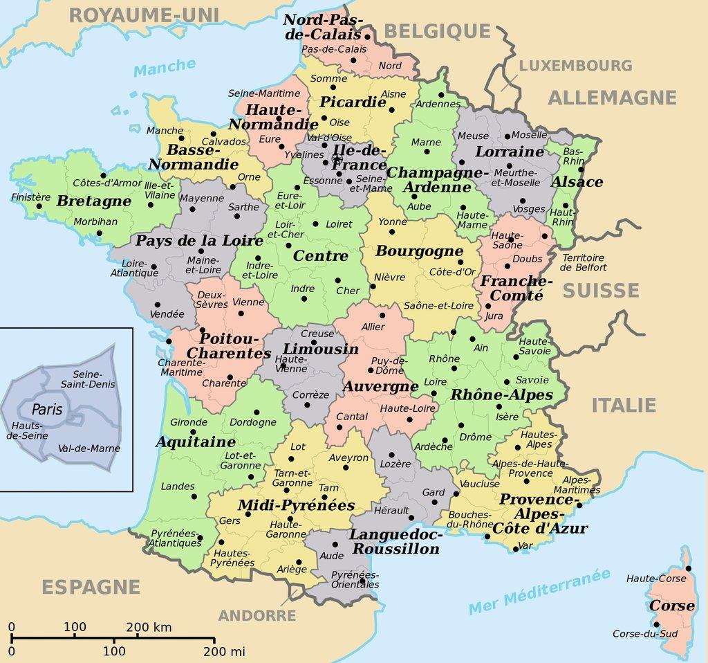 Les 10 départements les plus sportifs de France