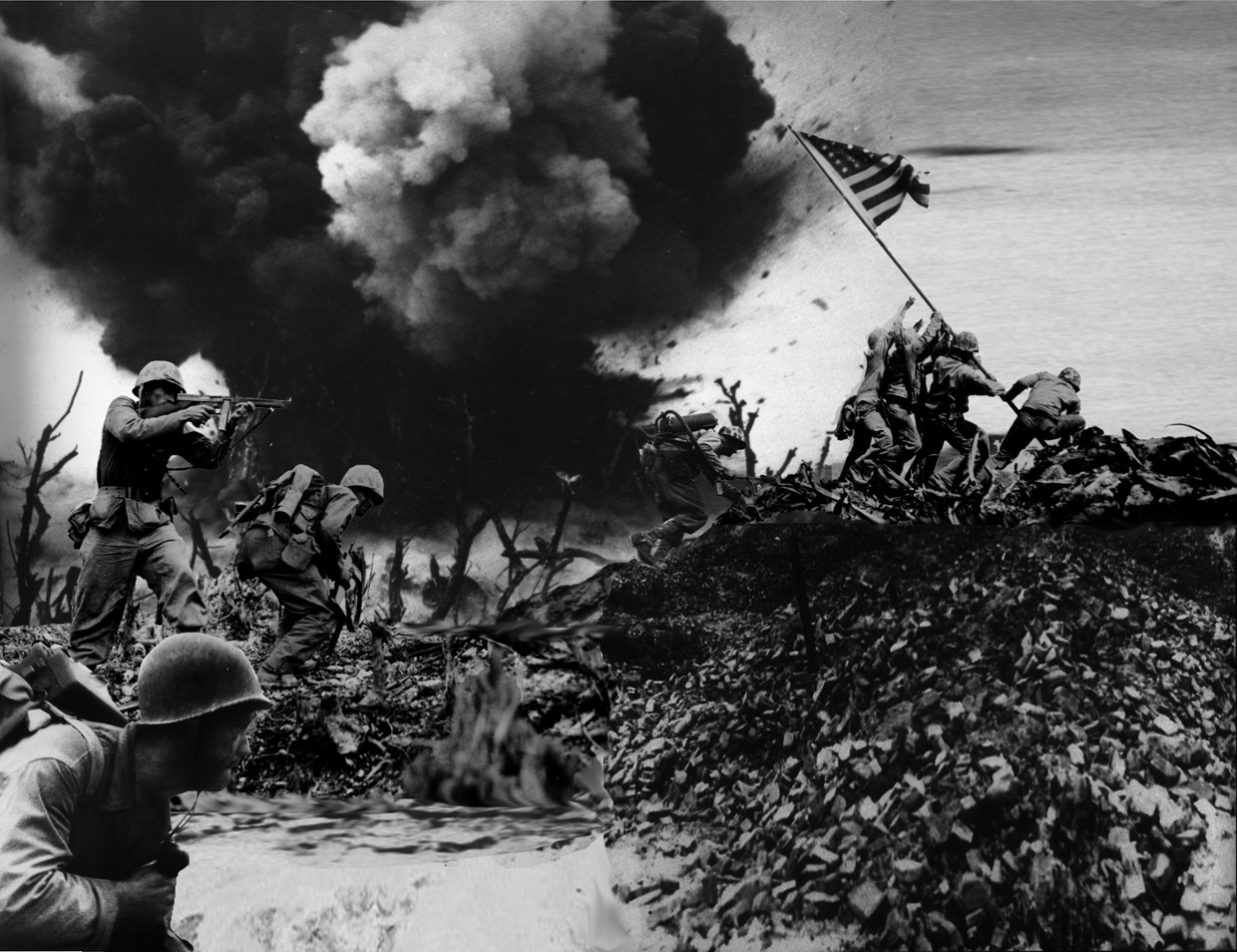 battle of iwo jima After the battle, both fleet adm ernest j king and general of the army george c marshall continued to maintain that iwo jima provided essential fighter cover for superforts, but they began shifting emphasis to the b-29 landings on iwo jima.
