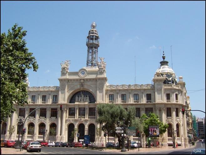 Edificio de correos de valencia thinglink for Horario oficina de correos valencia