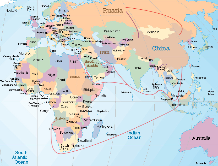 Map Of Countries With Hemisphere Map Of Countries With States - Iceland latitude