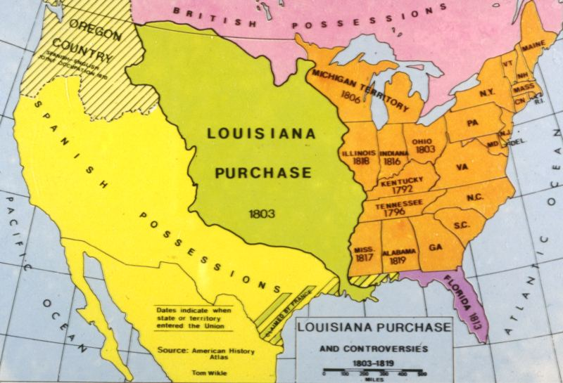 an introduction to the history of the louisiana purchase A summary of the louisiana purchase in 's the first years of the union (1797-1809) learn exactly what happened in this chapter, scene, or section of the first years.