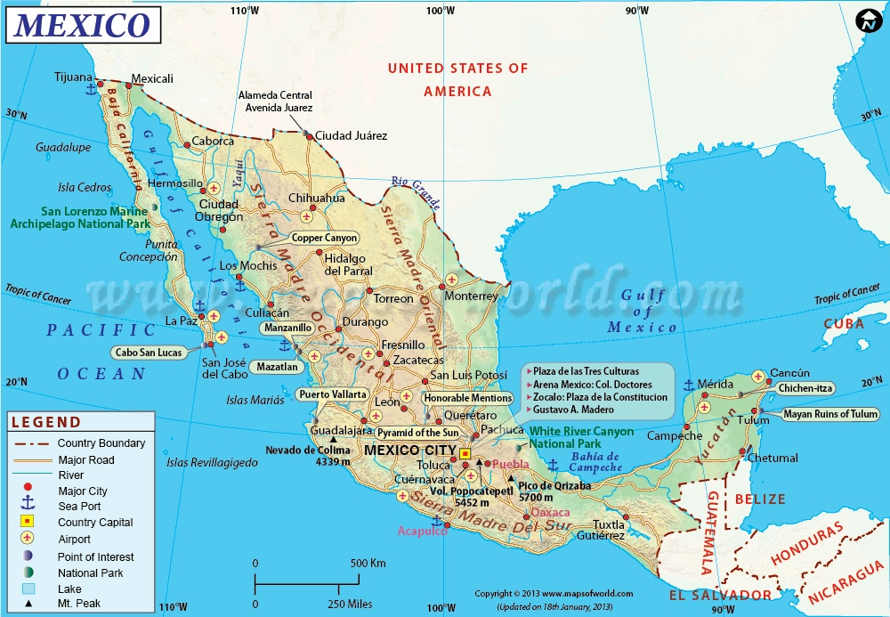 M 233 Xico Drug Cartel Map Thinglink