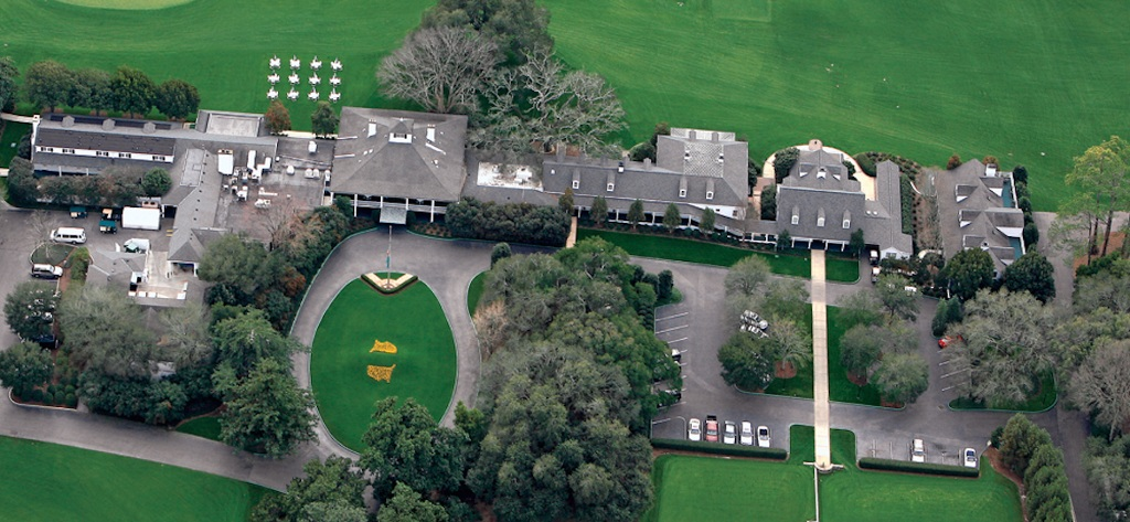 Augusta National Clubhouse Tour