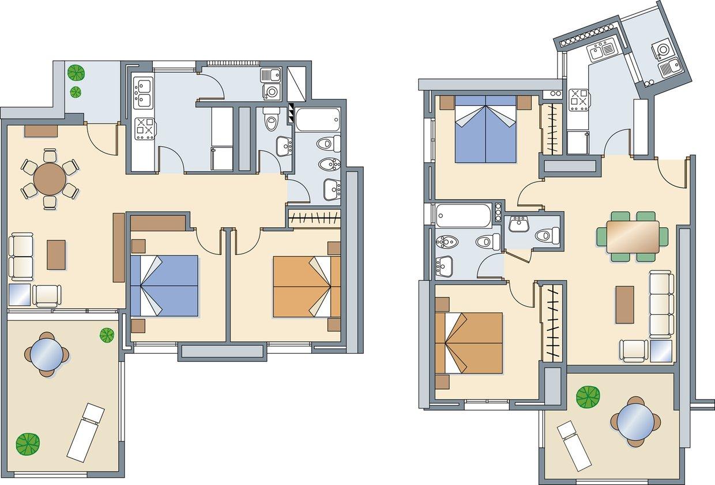 floor plans. Black Bedroom Furniture Sets. Home Design Ideas