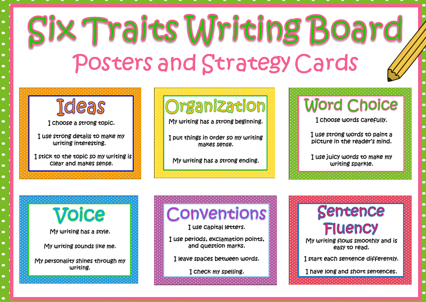 6 trait writing rubric Nwrel's six traits of writing rubric english and spanish versions of the 6-traits of writing rubric and other rubrics for listening, public speaking and reading process writing assessment (pwa) rubrics and anchor papers.