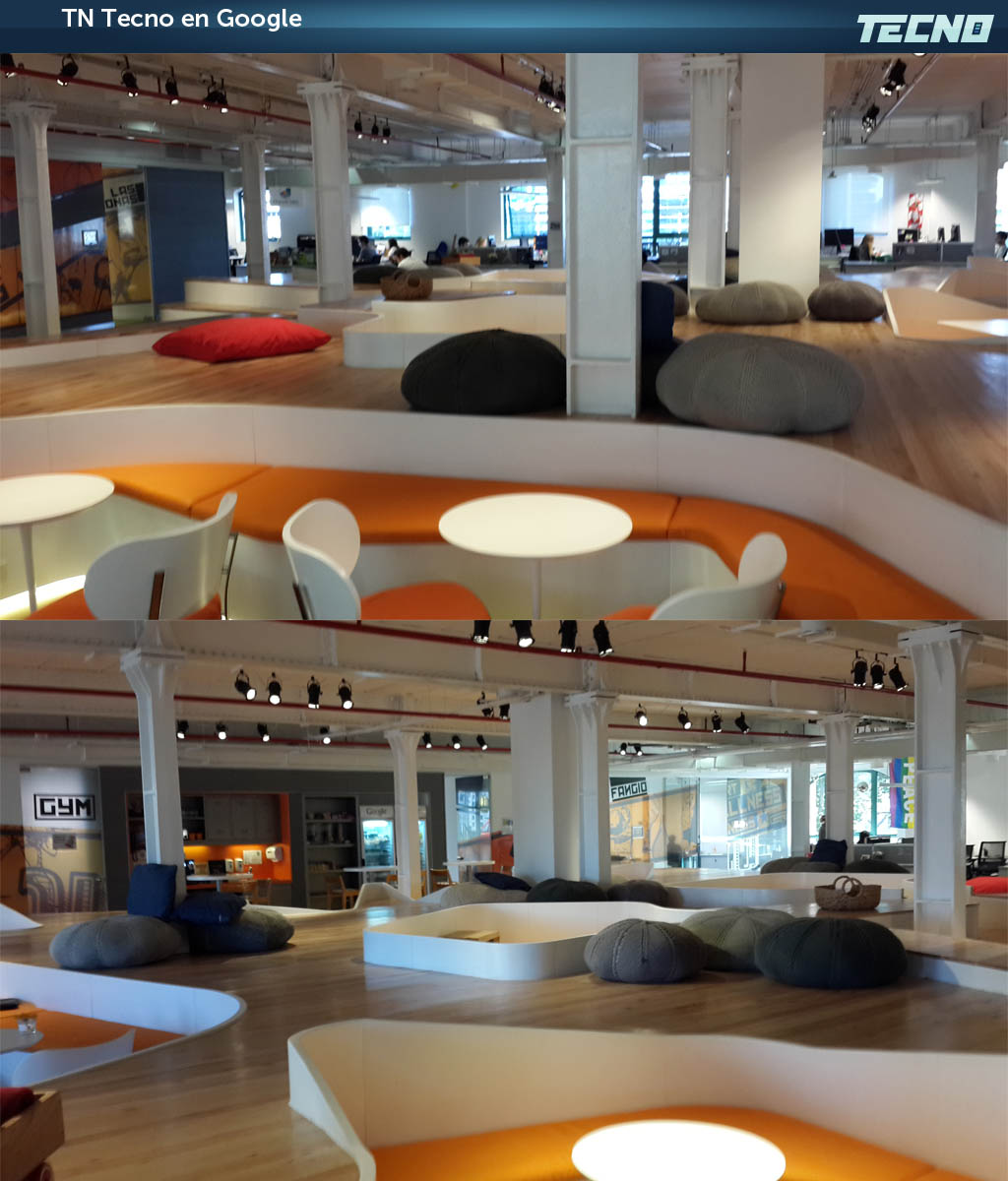 Visita interactiva tn tecno en las oficinas de google for Google argentina oficinas