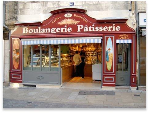 Une boulangerie p tisserie une maison - Decoration boulangerie patisserie ...