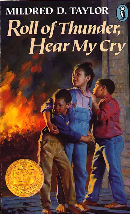 an analysis of the characters in the novel roll of thunder hear my cry by mildred d taylor Mildred taylor's newbery award-winning book roll of thunder, hear my cry chronicles the inspiring story of the logan family in depression-era mississippi based on her own family's history with slavery, taylor's story about one black family's struggle to keep their land, their independence, and their pride amid racial discrimination create a compelling.