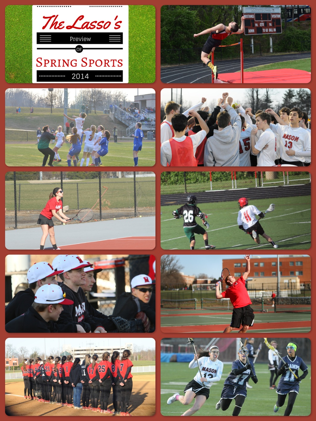 The Lasso Spring Sports Previews