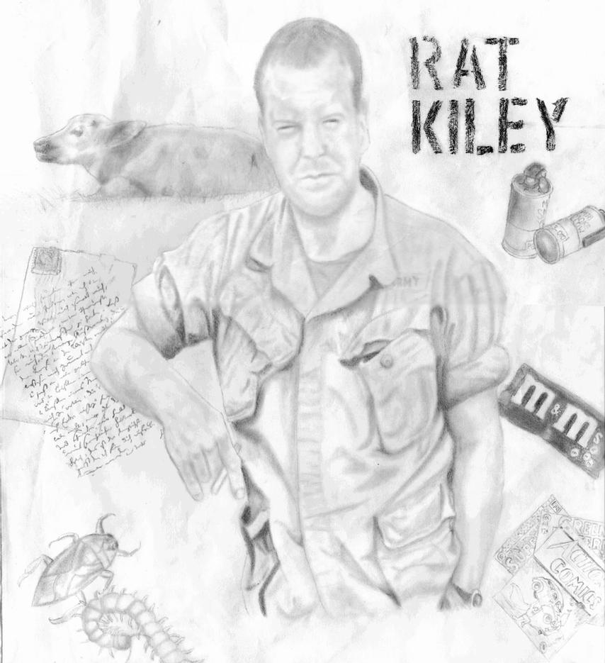 rat kiley in the things they carried essay The things they carried is a combat novel, yet it is not a combat novel it is also a blend of traditional and untraditional forms - a collection, gene lyons says, of short stories, essays, anecdotes, narrative fragments, jokes, fables, biographical and autobiographical sketches, and philosophical asides (52.