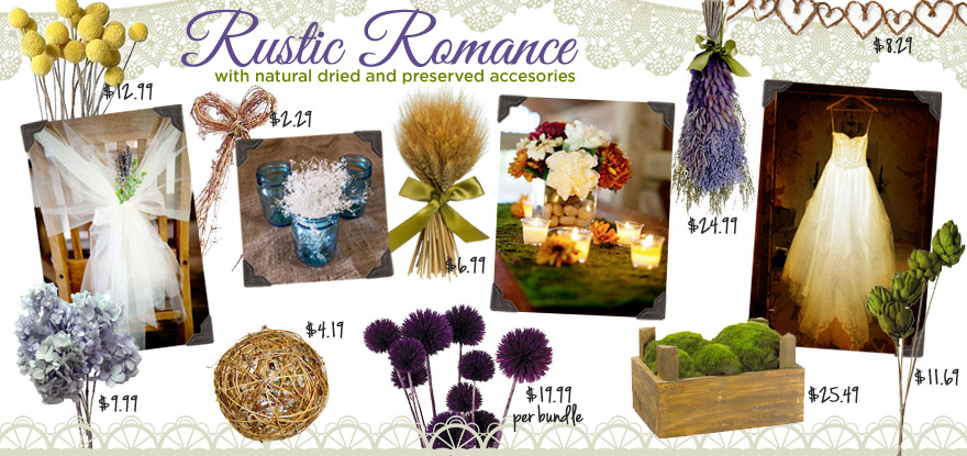 preserved wedding flowers dried flowers floral supplies