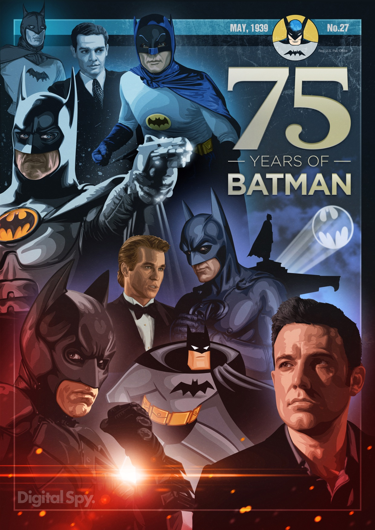 Batman 75th anniversary: The men behind the mask