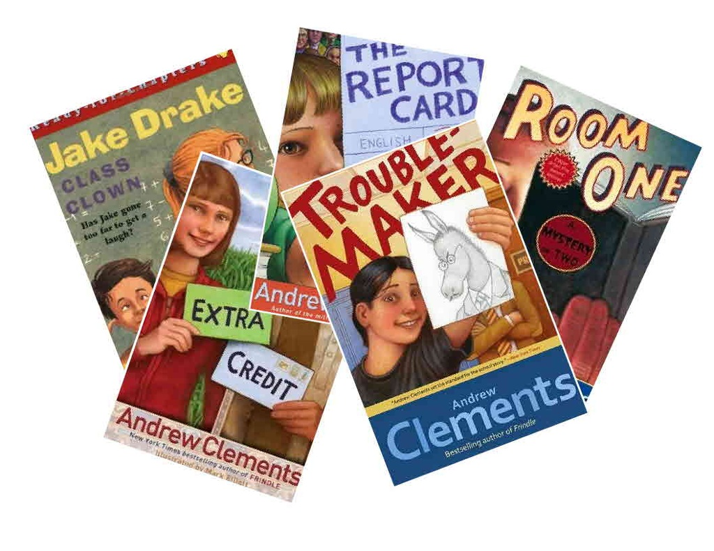 room one by andrew clements book report Room one: a mystery or two andrew clements mitchell's morning mystery book nebraska needed okay one-room school paperboy news, the report card and.