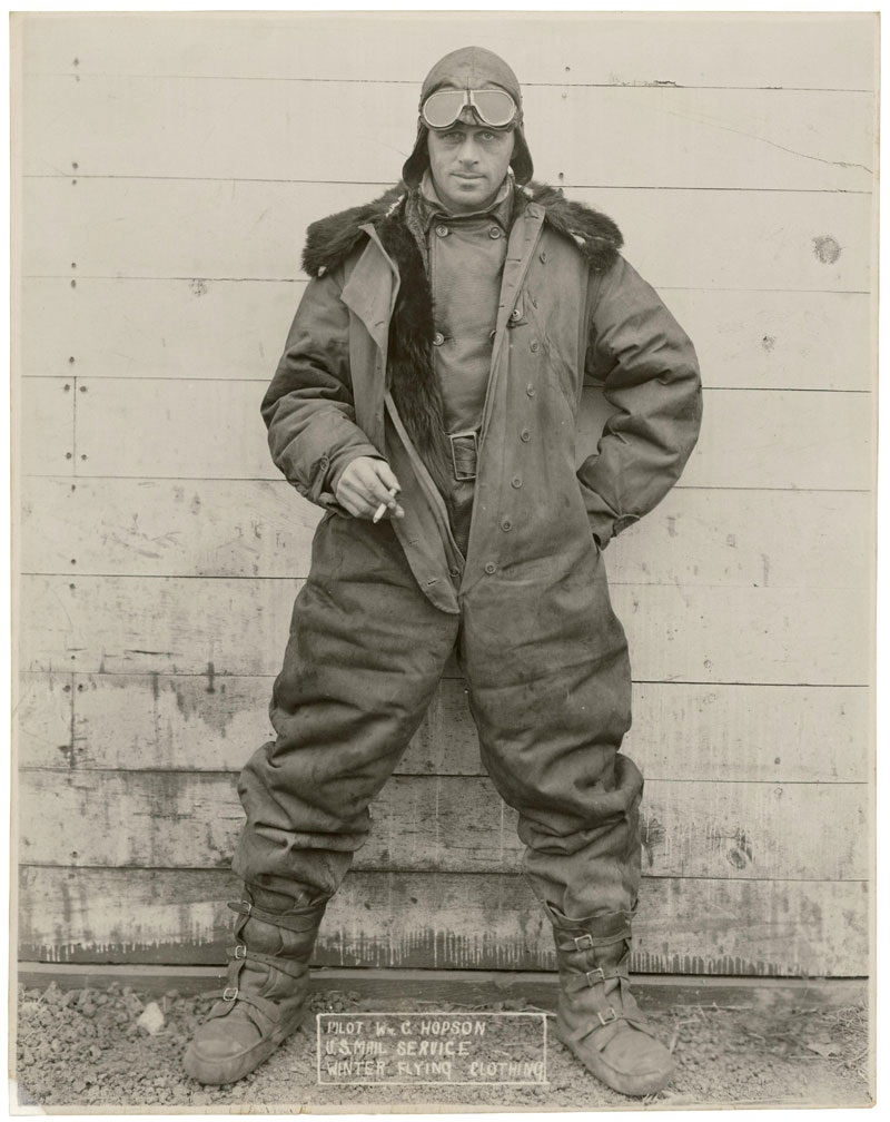 "Document for Today, May 15th:  ""Pilot Wm. C. Hopson, U.S. Ma"