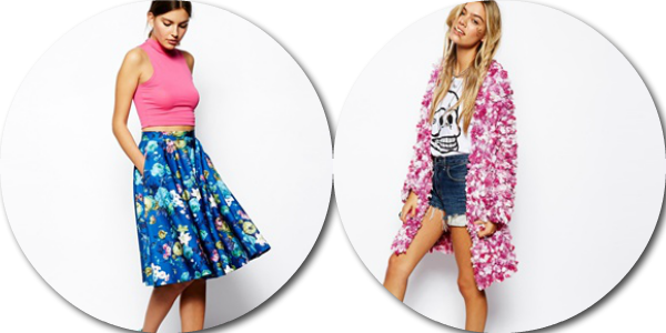 asos saved items wishlist scuba skirts long cardigans