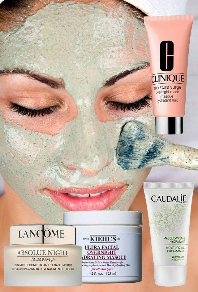 Красота во время отдыха: ночная маска для лица
